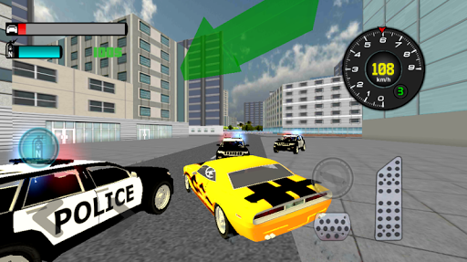 Liberty City: Police chase 3D
