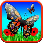 Butterfly Games: Kids - FREE!