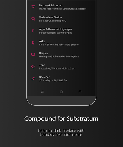 Compound for Substratum (Android Pie/Oreo/Nougat) ss1