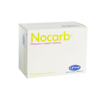 NOCARB 500MG TABLETA