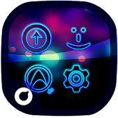 Neon Life Icon Pack | Theme