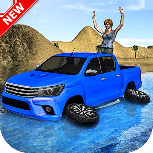 Beach Truck Water Surfing – 3D Fun Driving Sim