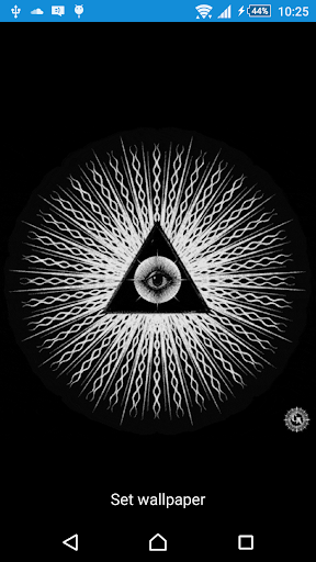 All Seeing Eye Live Wallpaper