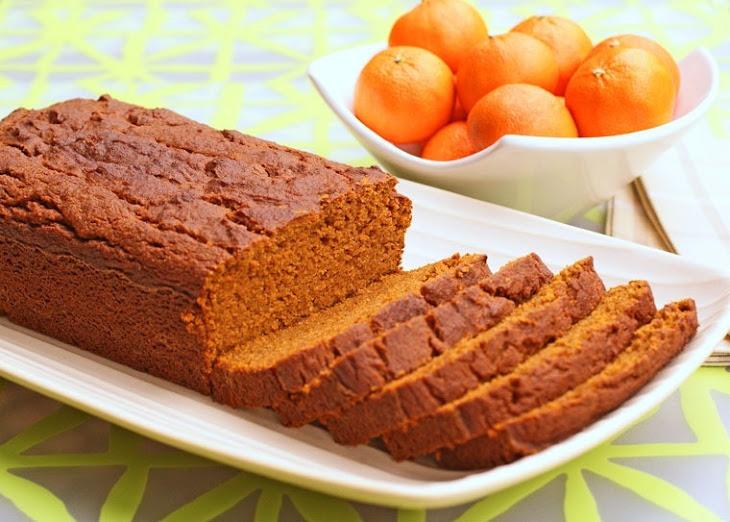 Gluten Free Orange Pumpkin Bread Recept | Yummly