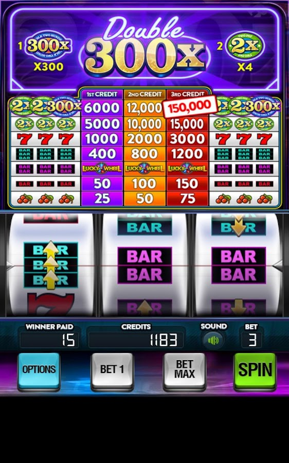 Double 300x Slots Free- screenshot