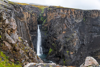 Photo: Litlanesfoss, Island