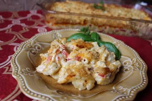 """Redneck Mac 'n Cheese Casserole """"Made this true to recipe and then..."""