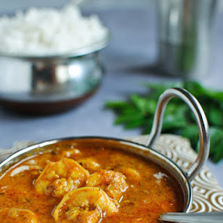 Prawn Masala Curry - South Indian Style Recipe