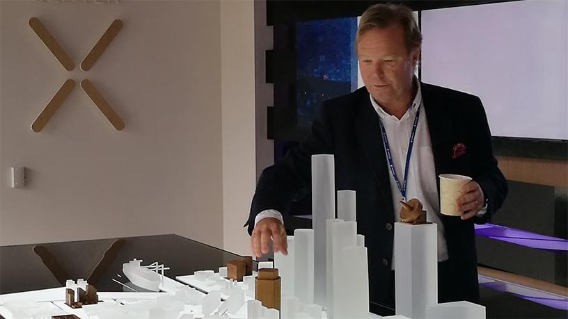Thomas Olsson, head of the Ericsson Silicon Valley Experience Centre, takes us through the tour.