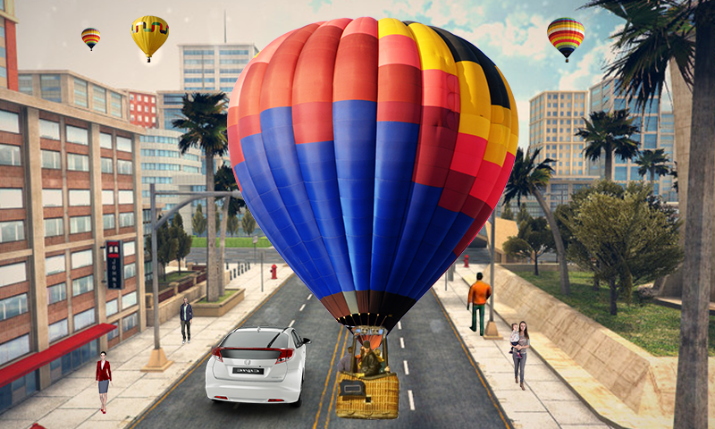 Hot Air Balloon Simulator- screenshot
