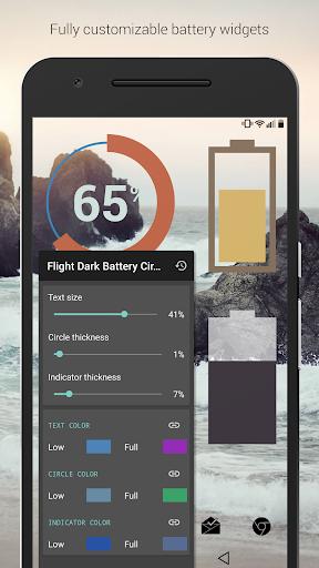 Dark Void - Black Circle Icons (Pro Version) screenshot