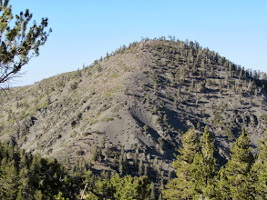 Photo: Zoomed-in view north toward of Pine Mt. We shall again climb it.