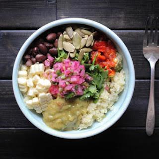 Mexican Cauliflower Rice Salad.