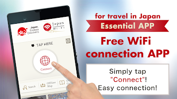 screenshot of Japan Connected-free Wi-Fi