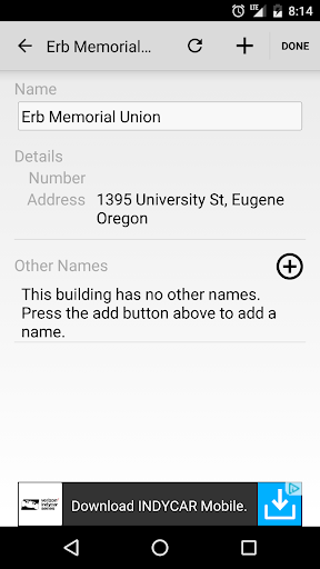 U Oregon Maps screenshot