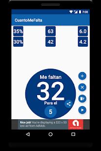 CuantoMeFalta - náhled