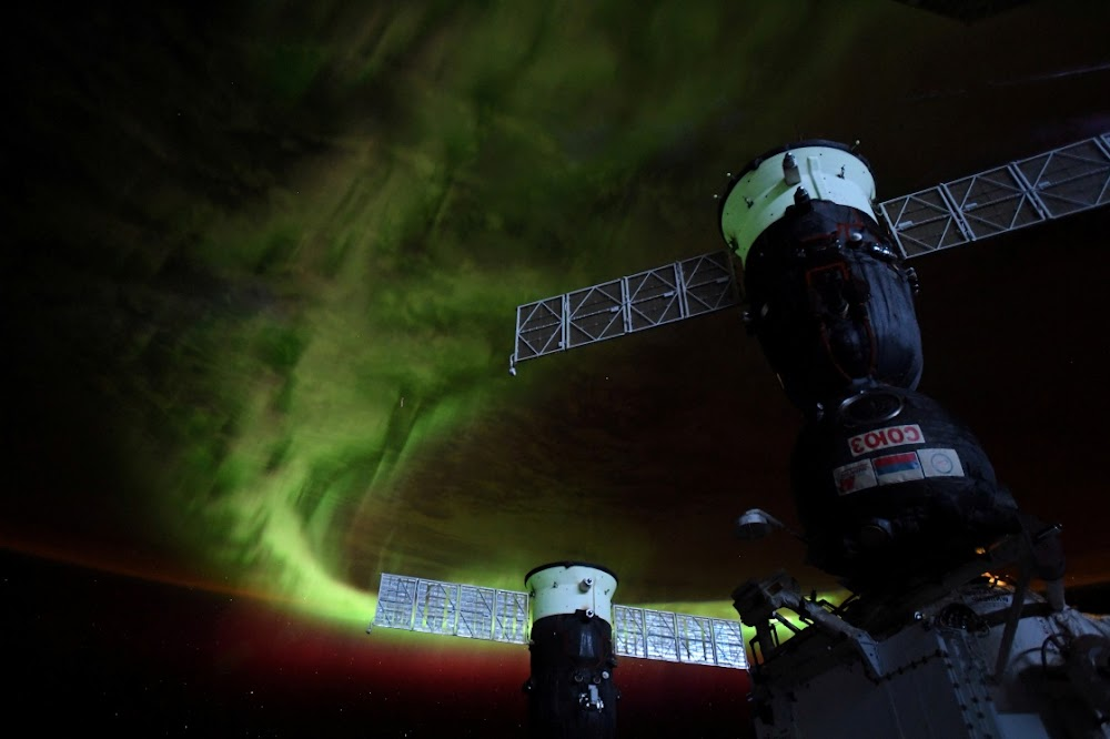 New space station crew blasts off leaving Earth to cope with Covid-19 - DispatchLIVE