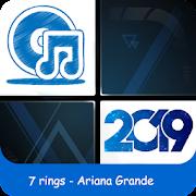 7 rings Ariana Grande - Piano Tiles 2019