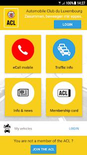 ACL App - náhled