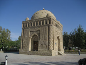 Photo: Bukhara - Ismail Samani Mausoleum