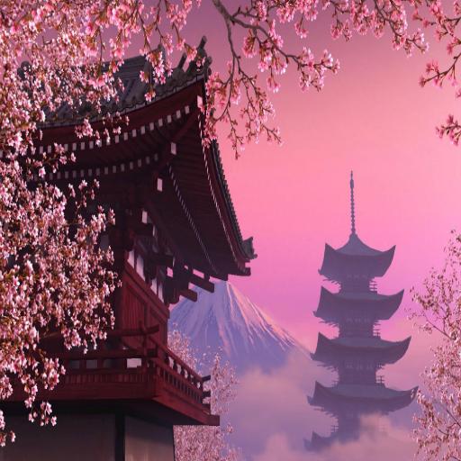 Sakura theme Xperia Живые обои