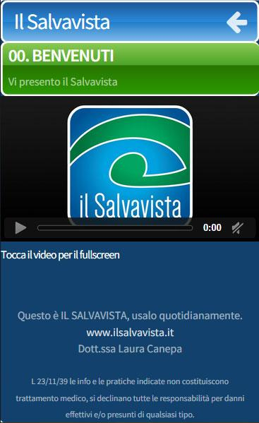 il Salvavista- screenshot