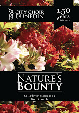 Photo: Nature's Bounty concert, 23 March 2013 at Knox Church. City Choir Dunedin with Southern Sinfonia. Conductor David Burchell, Soprano Grace Park and Tenor Matthew Wilson. Photographer: John Roxborogh
