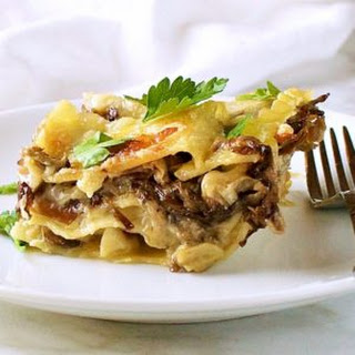 Creamy Mushroom Lasagna