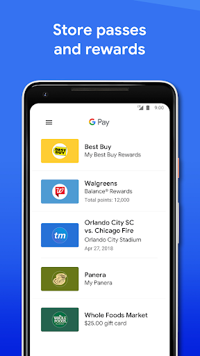 Google Pay: Pay with your phone and send cash screenshot 5