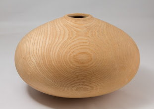 "Photo: Clif Poodry 11"" x 7"" hollow form [ash]"