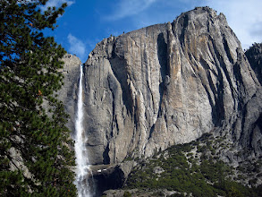 Photo: First view of Yosemite waterfalls without overcast skies. #3700