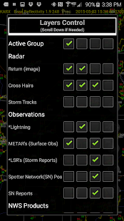 Radar Alive! Pro Weather Radar- screenshot thumbnail