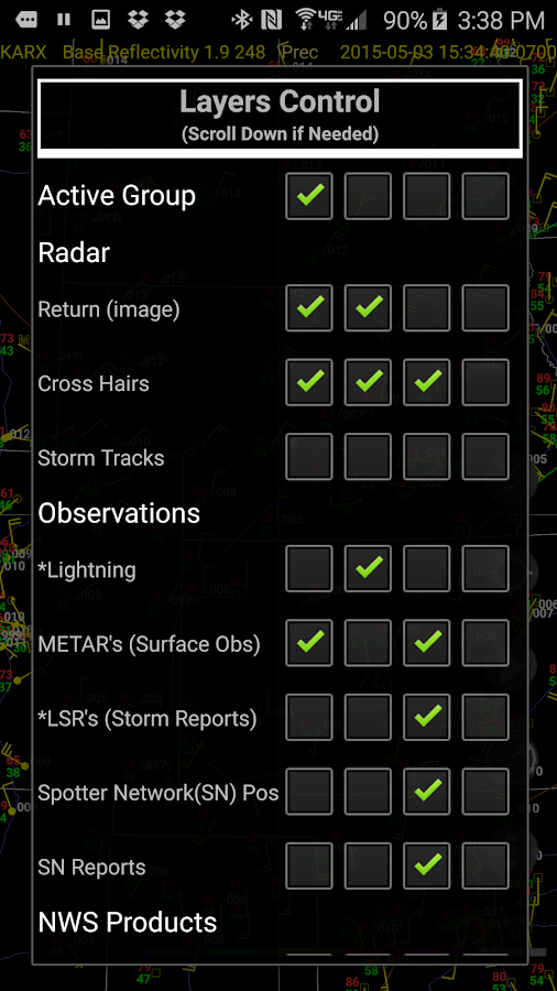 Radar Alive! Pro Weather Radar - screenshot
