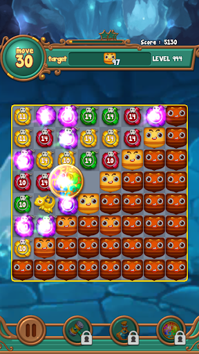 Jewels fantasy:  Easy and funny puzzle game apkpoly screenshots 8