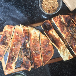TOASTED FLATBREAD & HAZELNUT DUKKAH