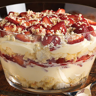 Twisted Strawberry Shortcake