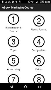 eBook Marketing Course - náhled