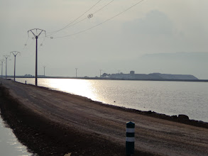 Photo: The road leading to the salines de Trinidad