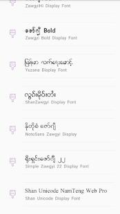 TTA SAM Myanmar Font 8 apk free download - PrettyApk com