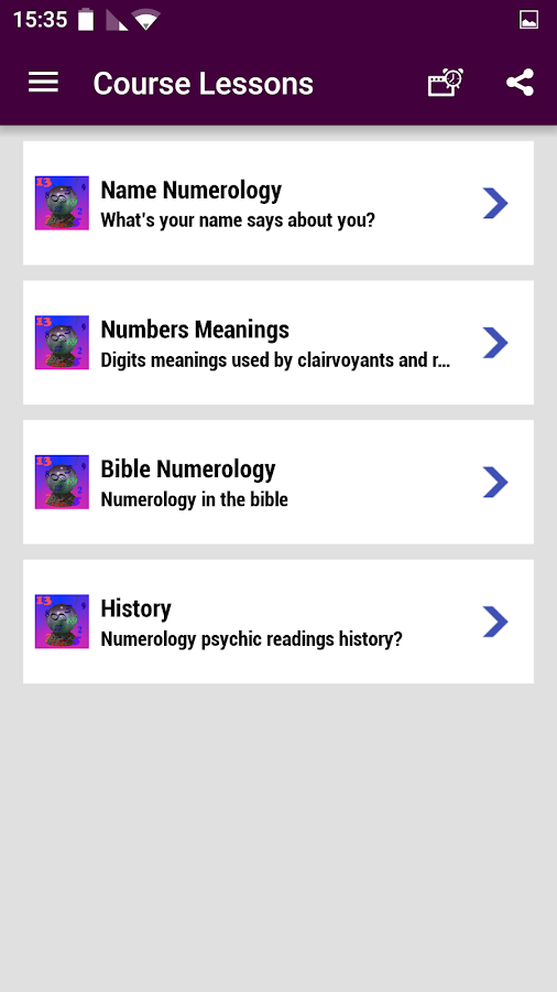 Numerology Psychic Reading- screenshot