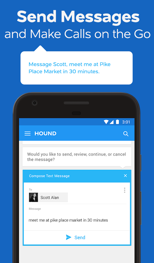 HOUND Voice Search & Assistant- screenshot