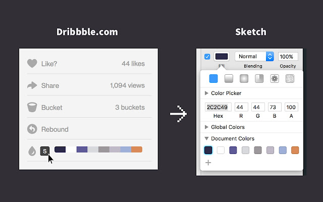 Dribbble Color Generator
