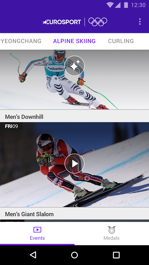 Winter Olympics VR Eurosport- screenshot