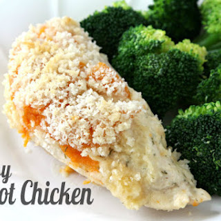 Cheesy Apricot Chicken Bake