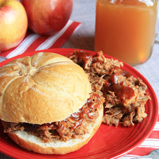 Crockpot Apple Cider Pulled Pork