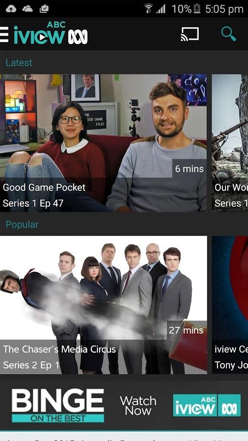 ABC iview- screenshot