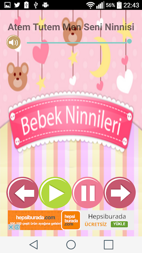 玩免費遊戲APP|下載Bebekler için Bizim Ninniler app不用錢|硬是要APP