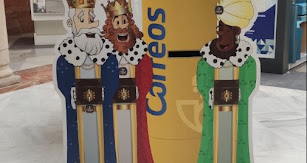 Buzones especiales para dejar las cartas de los Reyes Magos.