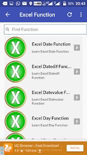 Excel Formula Tutorial - náhled
