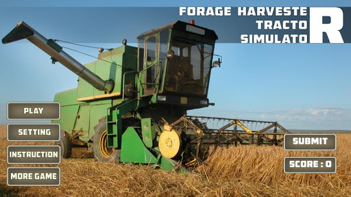 Forage Harvester Tractor Sim